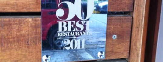 Pujol is one of Mexico City Top 10 Best Restaurants 2011.