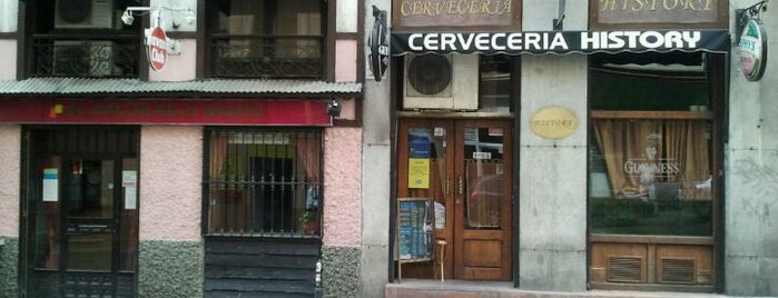 Cerveceria History is one of Madrid: Comer y beber..