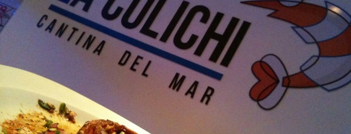 La Culichi. Cantina Del Mar is one of Comida.