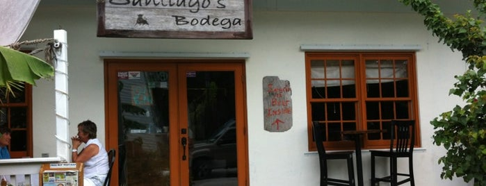 Santiago's Bodega is one of Key West, FL.