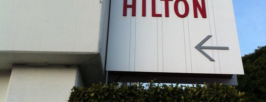 The Beverly Hilton is one of Los Angeles.