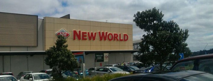 New World is one of Orte, die Mark gefallen.