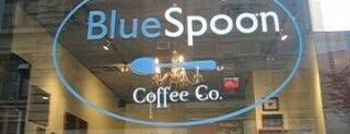 Blue Spoon Coffee Co. is one of • a coffee & a laptop.