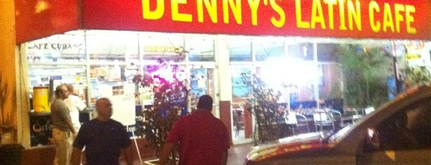Denny's Latin Cafe is one of The Florida Keys.