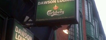 The Dawson Lounge is one of Trad Dublin Pubs.
