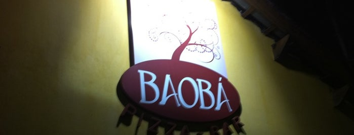 Baobá Pizza Bar is one of F.