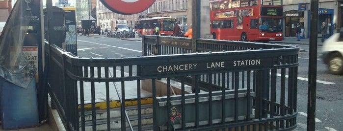 Chancery Lane London Underground Station is one of Underground Stations in London.