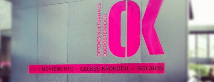 OK Offenes Kulturhaus is one of All Time Favorites Linz.