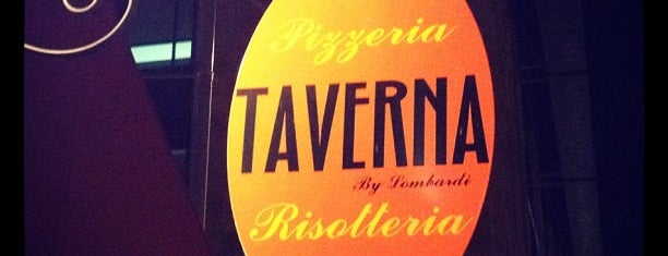 Taverna is one of pizza!.