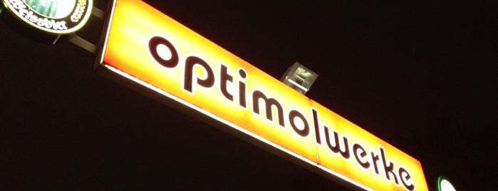 Optimolwerke is one of I Love Munich!.
