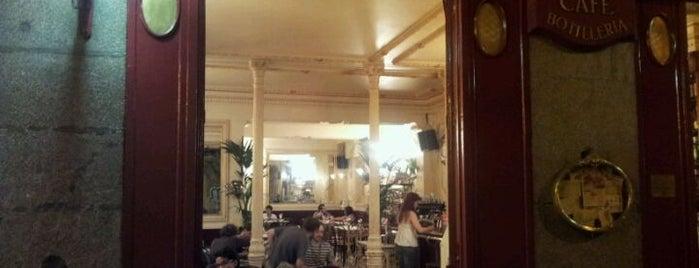 Café Manuela is one of Cafeterías de Madrid.