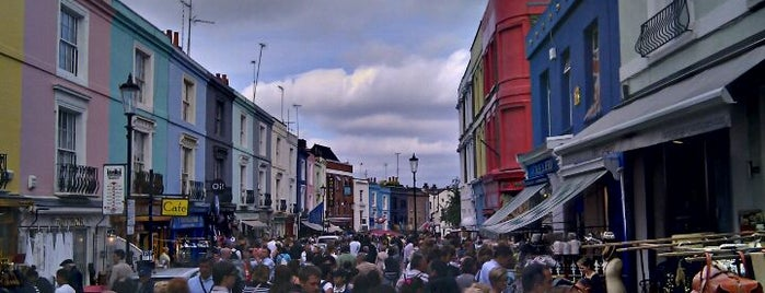 Portobello Road Market is one of Relax in London.