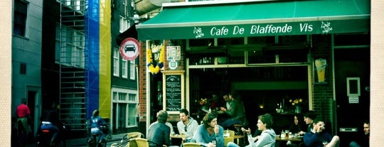 De Blaffende Vis is one of Z☼nnige terrassen in Amsterdam❌❌❌.