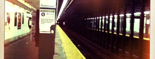 MTA Subway - Nassau Ave (G) is one of USA NYC BK Greenpoint.