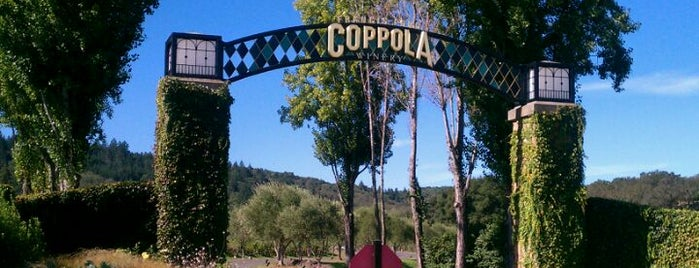 Francis Ford Coppola Winery is one of California Wine Country.