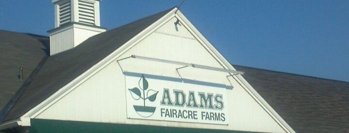Adams Fairacre Farms is one of Tempat yang Disukai Marcus.