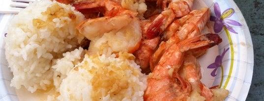 Lanikai Shrimp Shack is one of hiyopuraさんの保存済みスポット.