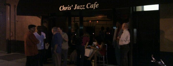 Chris' Jazz Cafe is one of Eat, Drink & Be Philly Dining Guide!.
