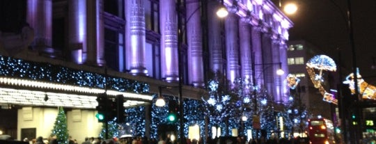 Selfridges & Co is one of Relax in London.