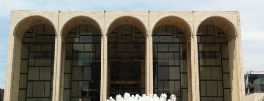 Lincoln Center is one of Architecture - Great architectural experiences NYC.