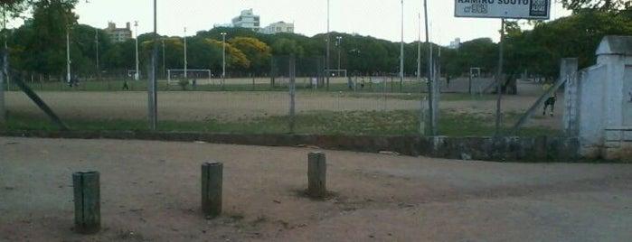 Pista Atlética do Parque Ramiro Souto is one of Locais curtidos por Paulo.