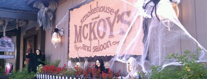 McKoy's Smokehouse & Saloon is one of Lieux qui ont plu à Tony.