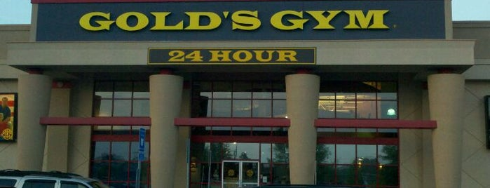 Gold's Gym is one of #FitBy4sqDay Tips.