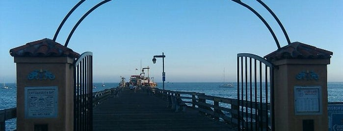 Capitola Wharf is one of Gorgeous landmarks.