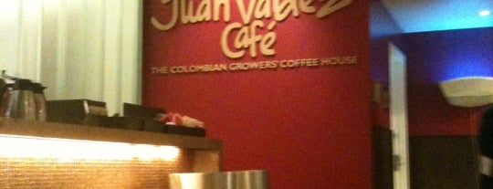 Juan Valdez Café is one of NY Coffee Shops Offering Free Wi-Fi.
