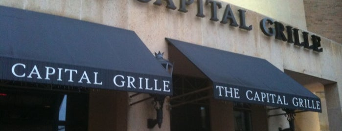 The Capital Grille is one of Lugares favoritos de Richard.
