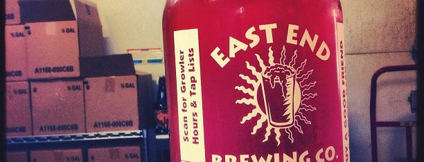 East End Brewing Co. is one of Cupcakes and Beer.