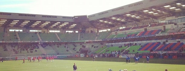 Stade Michel d'Ornano is one of Soccer Stadiums.