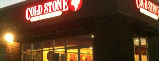 Cold Stone Creamery is one of Locais curtidos por Chad.