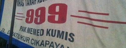 "Sop Kaki Kambing 999 ""Pak Memed Kumis"" is one of Bandung Food Foursquare Directory."