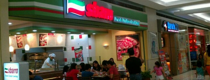 Sbarro is one of pizza places of world 2.