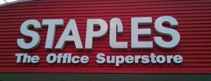 Staples is one of My Favorites.
