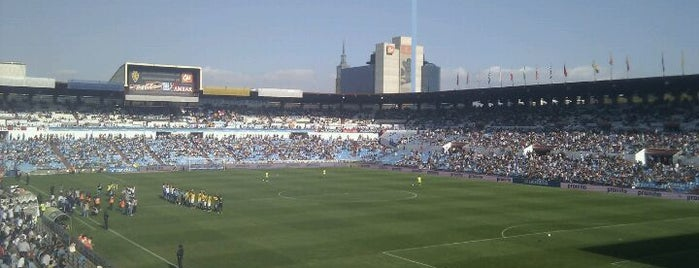 La Romareda is one of Estadios Liga BBVA.