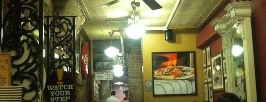 Lombardi's Coal Oven Pizza is one of My top New York spots.