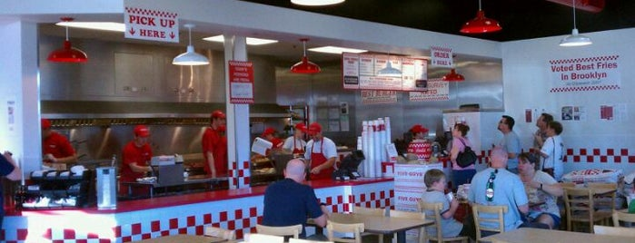 Five Guys is one of PHX Burgers in The Valley.