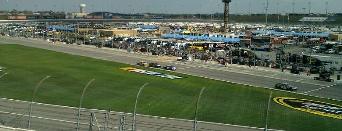 Kansas Speedway is one of My NASCAR.