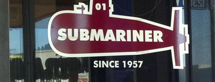 Submariner is one of Tempat yang Disimpan Andrew.