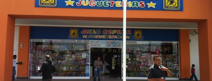 Jugueterias Julio Cepeda is one of สถานที่ที่ Joshefo ถูกใจ.