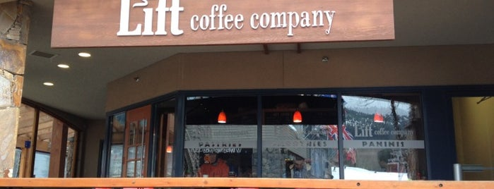 Lift Coffee Company is one of WHistler.