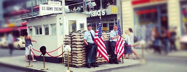 Checkpoint Charlie is one of Hopefully, I'll visit these places one day....