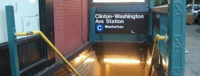 MTA Subway - Clinton/Washington Aves (C) is one of Orte, die Jason gefallen.
