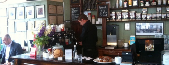 Market Coffee House is one of Specialty Coffee Shops (London).