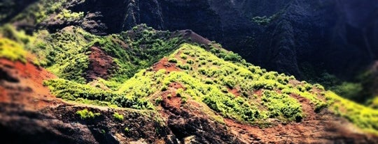 Na Pali Coast is one of Hawaii.