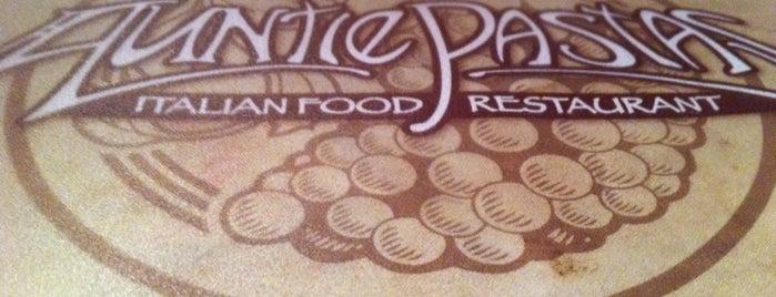 Auntie Pasta's is one of Lieux qui ont plu à Brian.