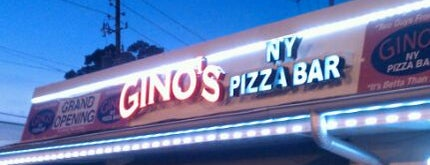 Gino's New York Pizza Bar is one of Kostas's Liked Places.