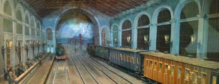 Центральный музей железнодорожного транспорта is one of All Museums in S.Petersburg - Все музеи Петербурга.